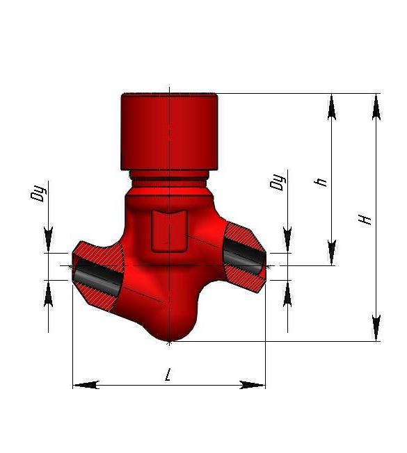 Клапан обратный 843-40-0